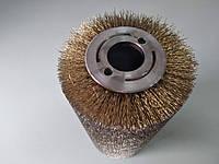 Металева щітка для штучного старіння деревини (спіральна), фото 1