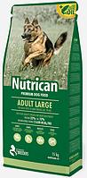 Корм Nutrican Adult (Нутрикан Эдалт) Large для взрослых собак крупных пород, 15 кг