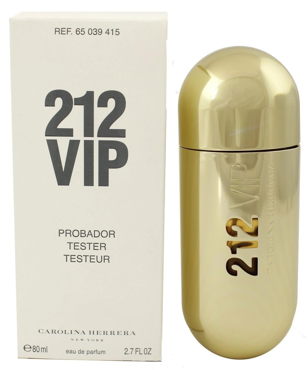 Carolina Herrera 212 VIP for Women парфюмированная вода 80 ml. (Тестер Каролина Херрера 212 Вип Фор Вумен)
