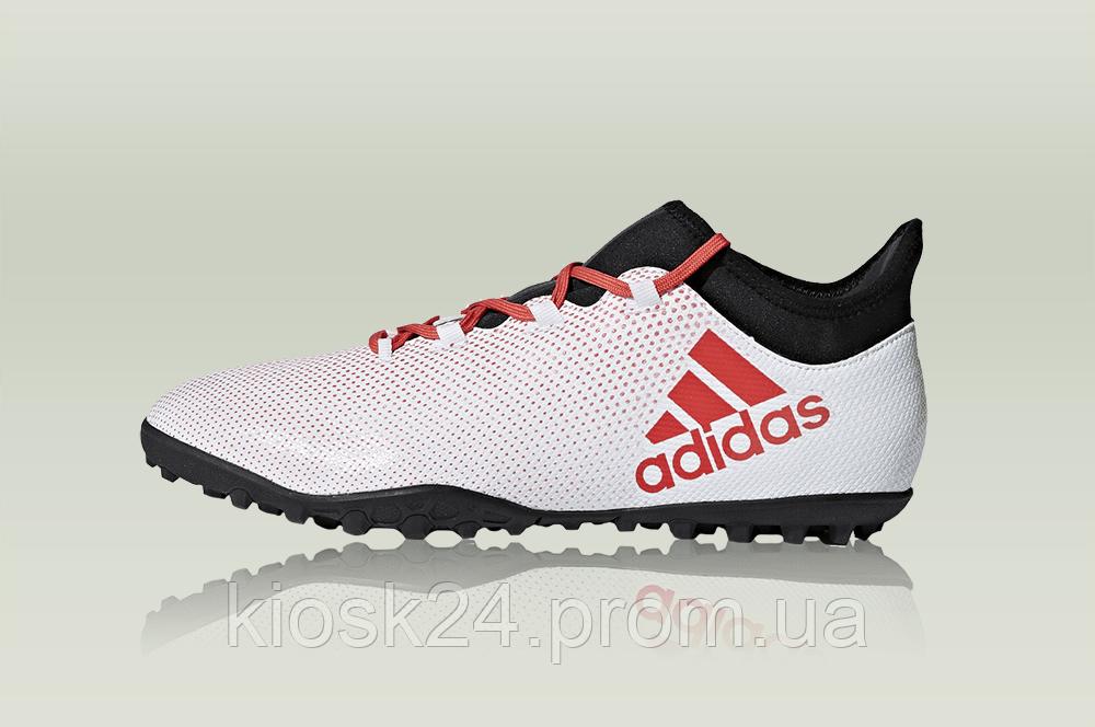 45cf33cd418a40 Футбольные бутсы adidas X Tango 17.3 TF White - Sneakersbox - Интернет- магазин только с