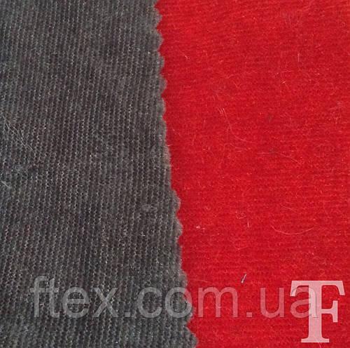 Велюр (Серый, Красный) Серый