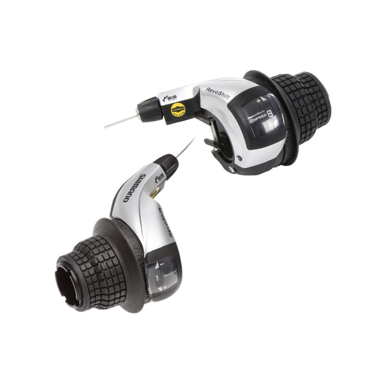 Манетки Shimano Tourney RevoShift, SL-RS45 пара 3+8 скоростей + тросики (OEM)