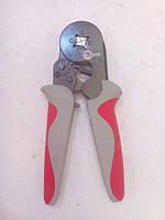 Пресс-клещи INTERTOOL для опрессовки трубчатых наконечников 0,25-6 мм. INTERTOOL HT-7051