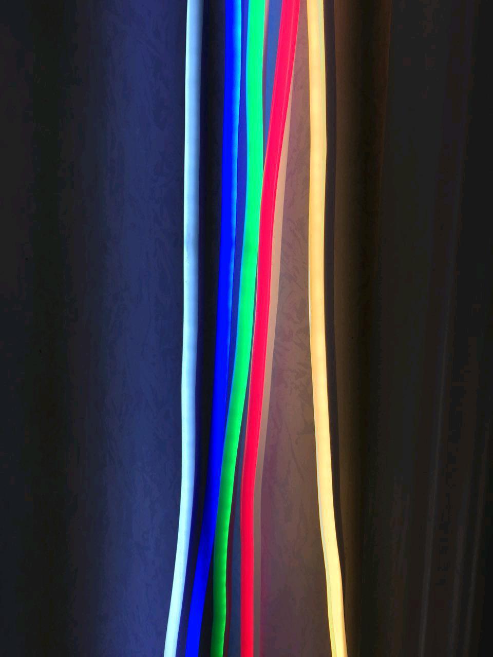 Светодиодный неон 2835/120 220В IP65 Розовый