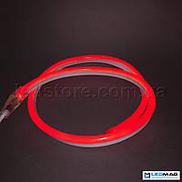 Светодиодный неон 2835/120 220В IP65 красный
