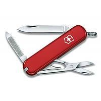 Нож складной Мультитул Викторинокс Victorinox AMBASSADOR (74мм, 7 функций), красный 0.6503