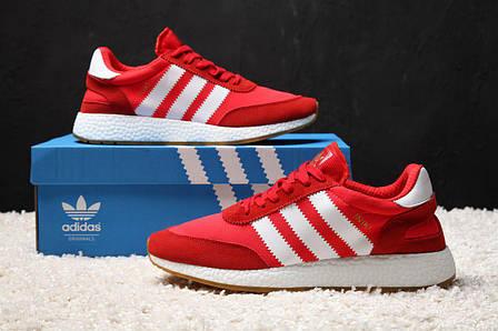 95c5f284 Мужские кроссовки в стиле Adidas Iniki Runner Red Красные : продажа ...
