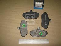 Колодка гальмівна ГАЗ 3302, ГАЗ 3110 передня (компл. 4шт.) (пр-во BEST)
