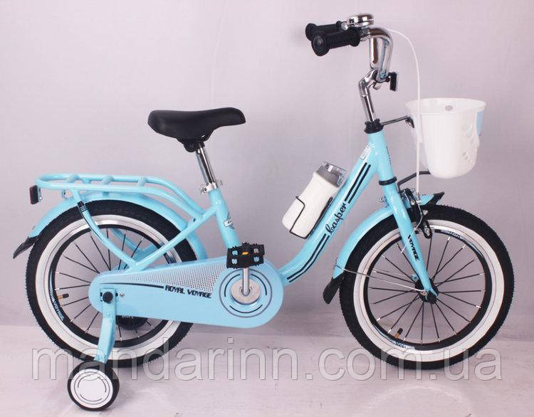 "Велосипед ""CASPER-16"" 16 дюймов Blue"