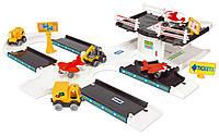 Игровой набор Kid Cars 3D аэропорт Wader (53350)