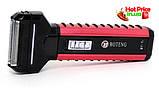Электробритва Boteng BT-T1 аккумуляторная 3 насадки бритье, стрижка волос, триммер для носа, фото 5