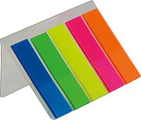 Закладки плаcтиковые с клейким слоем НЕОH (BM.2302-98)