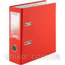 Реєстратор, 7,5 див., А5 одностороння, червоний. Delta by Axent