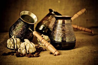 Медные турки для кофе