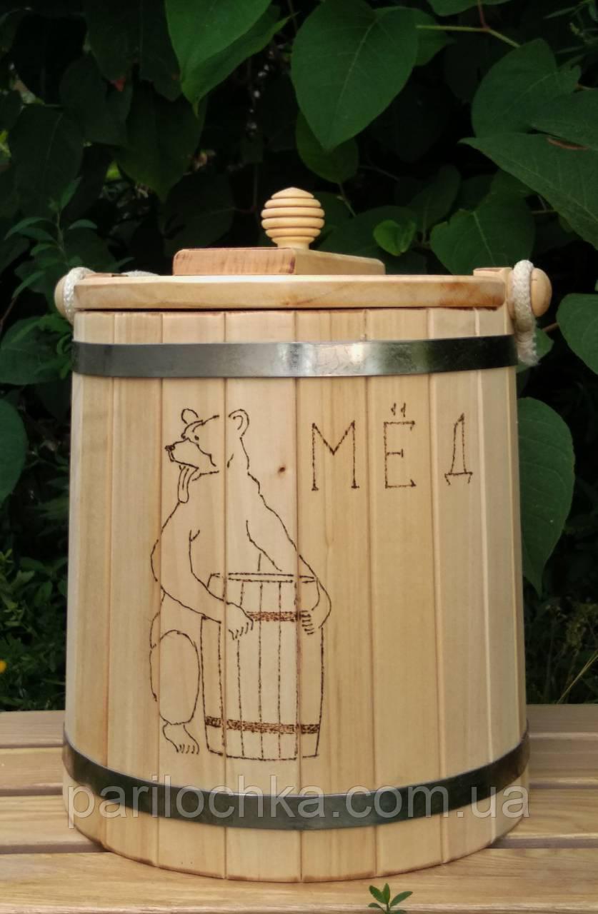 Липовая кадка для меда