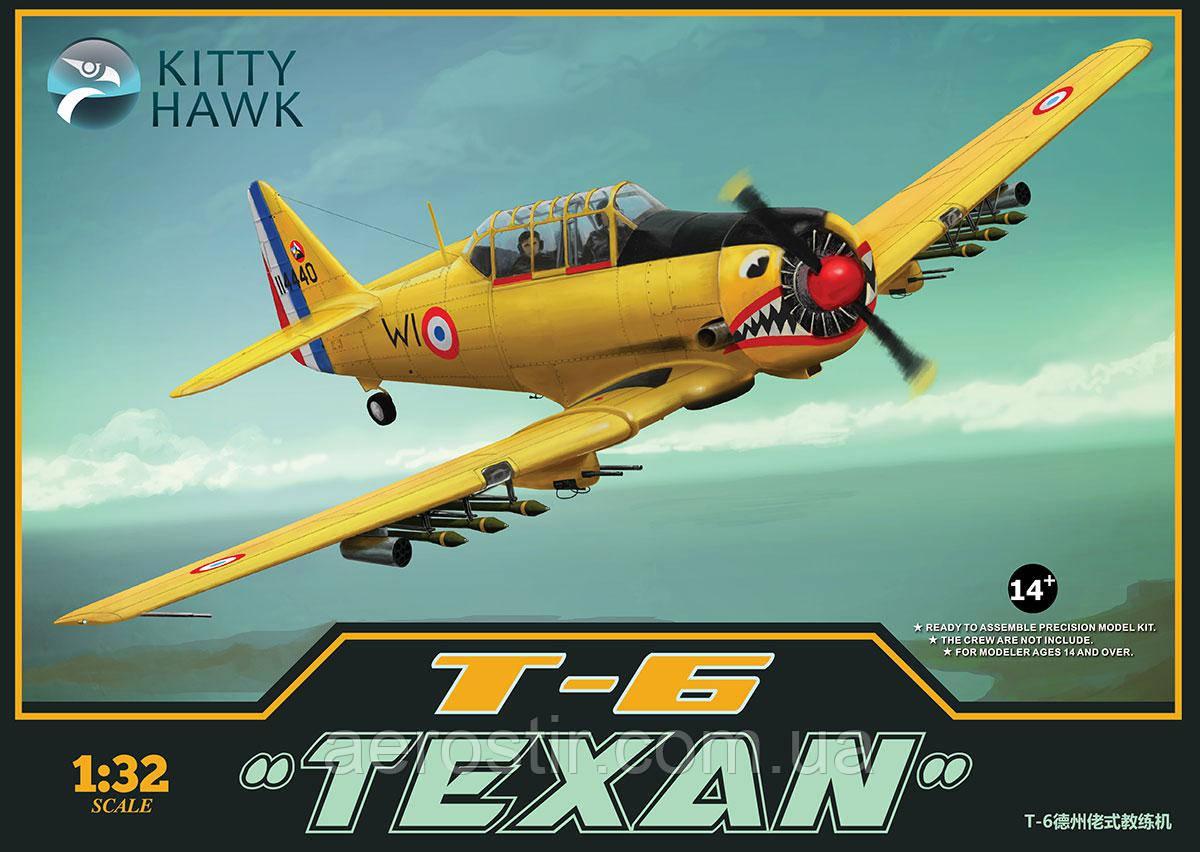 "T-6 ""Texan"" 1/32  Kitty Hawk 32002"
