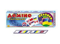 Домино флаги технок (картонное)