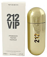 Carolina Herrera 212 VIP парфюмированная вода 80 ml. (Тестер Каролина Херрера 212 Вип), фото 1