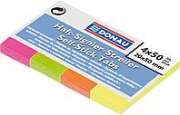 Закладки бумажные NEON с клейким слоем 7576001PL