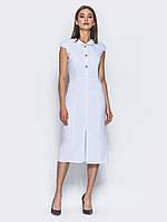 Утонченное платье-футляр длины миди с отложным воротником 90314 3342e82a37bb1