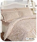 Семейное постельное белье First Choice Sweta Ekru