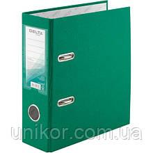 Реєстратор, 7,5 див., А5 одностороння, зелений. Delta by Axent