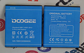 Оригинальный Аккумулятор АКБ (Батарея) для Doogee X5 | X5 PRO | X5S (3.8V 2400 mAh)