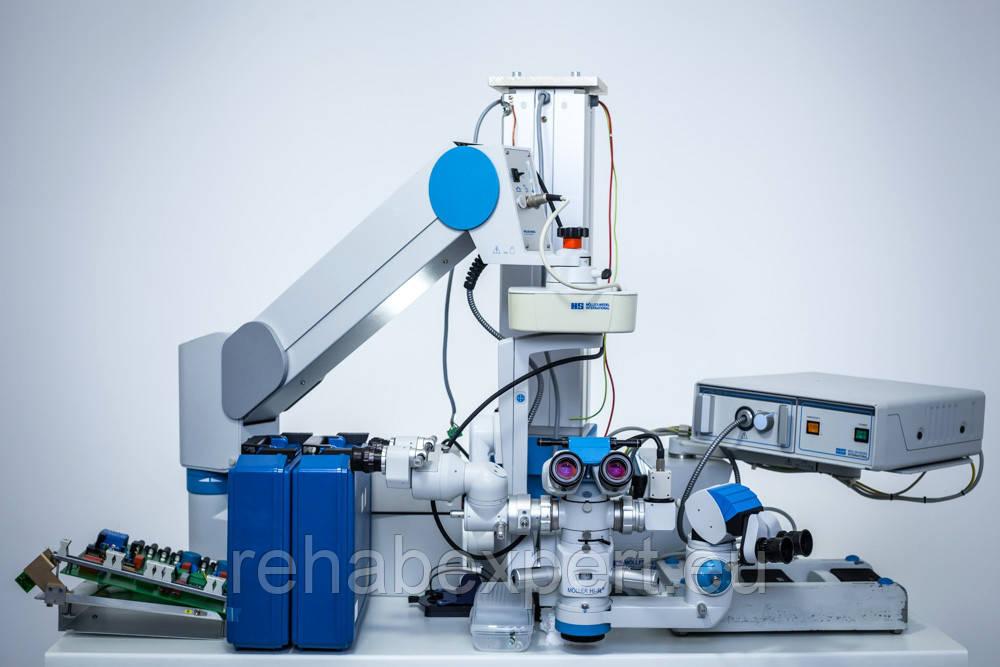Операционный офтальмологический микроскоп Moller-Wedel Hi-R 900 Surgical Ophthamology Microscope
