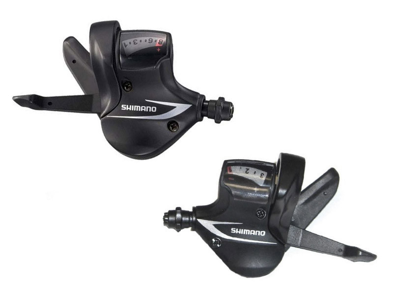 Манетки Shimano SL-M360, комплект 3+8 скоростей +тросики (OEM)