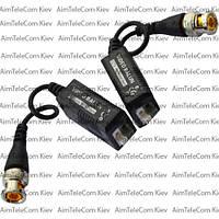 Видео балун для CCTV камер видеонаблюдения с кабелем 400-600м в блистере комплект 2шт