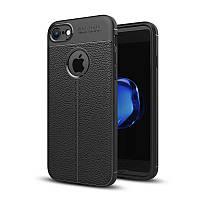 Чехол Apple Iphone 8 силикон Original Auto Focus Soft Touch черный