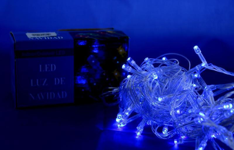 Xmas LED 100 B-6-1 Синяя