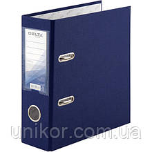 Регистратор 7,5 см., А5 односторонняя, синий. Delta by Axent