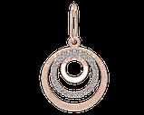 Подвеска - кулон серебряная Нежность 60178, фото 2
