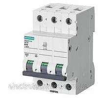 Автоматический выключатель Siemens Sentron 5SL (400В, 6кA, 3P, B, 32A), 5SL6 332-6