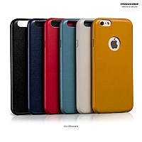 Чехол для iPhone 6 / 6S - Hoco Slimfit series leather back cover, разные цвета