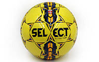 Мяч футбольный №5 Flash Turf 4790: PVC, клееный, фото 1