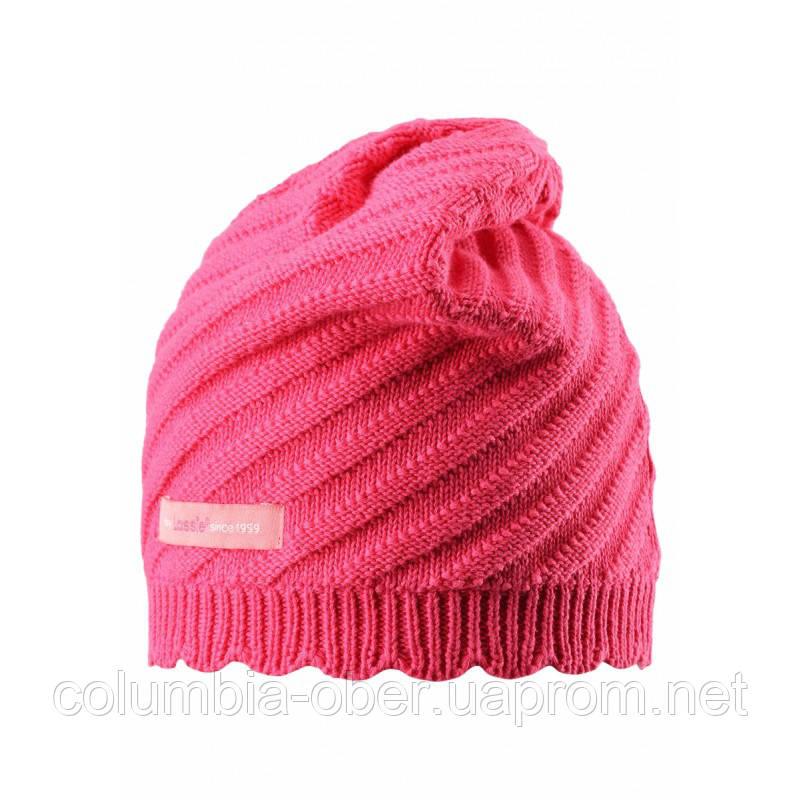 Демисезонная шапка для девочки Lassie by Reima 728701- 3400. Размеры S - L.