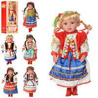 """Кукла музыкальная  M 1191-W-N """"Україночка"""" 47 cм ,поёт (укр)                                        , фото 1"""