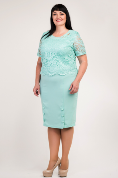 """Женское платье """"Магдалина"""" размер 54,56,58"""
