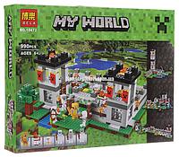 """Конструктор Майнкрафт """"Крепость"""" Bela 10472 аналог Лего 21127, 990 деталей., фото 1"""