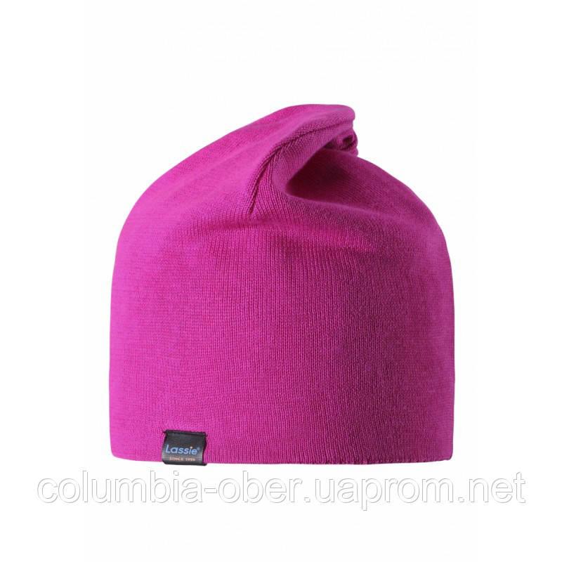 Демисезонная шапка для девочки Lassie by Reima 728709-4860. Размеры S - L.