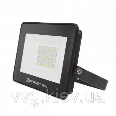 Прожектор светодиодный ES-50-504 BASIC 2750Лм 6400К Евросвет (000039418)