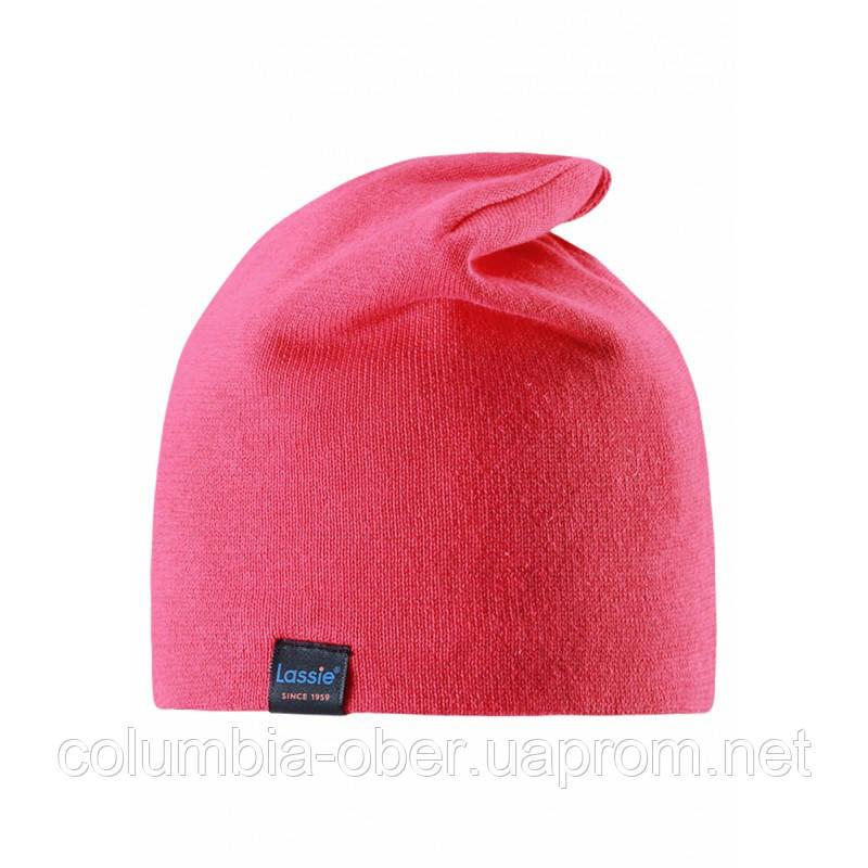 Демисезонная шапка для девочки Lassie by Reima 728709-3400. Размеры S - L.