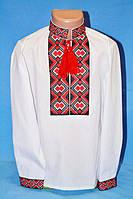 Рубашка с вышивкойдля мальчика. 86-170р