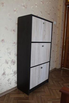 e48dd9b3f Тумба під взуття Фантазія (венге \ дуб сонома), цена 1 059 грн., купить  Львів — Prom.ua (ID#743549309)