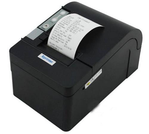 Xprinter XP-C58N LAN POS чековый принтер 58мм с автообрезом