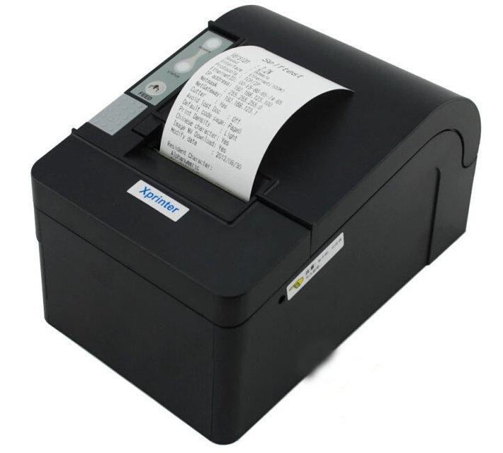 Xprinter XP-C58H LAN POS чековый принтер 58мм с автообрезом