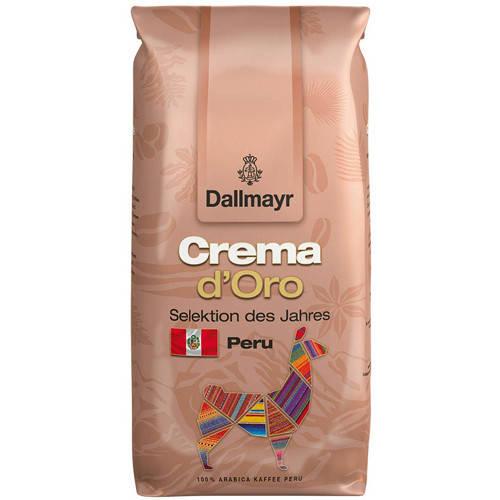 Кофе DALLMAYR Crema d'Oro Selektion des Jahres Peru в зернах 1000 г