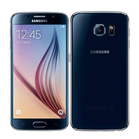 "Смартфон SAMSUNG Galaxy S6 G920F Black Sapphire \ 32Gb \ 5.1"" \ 16 Mp"